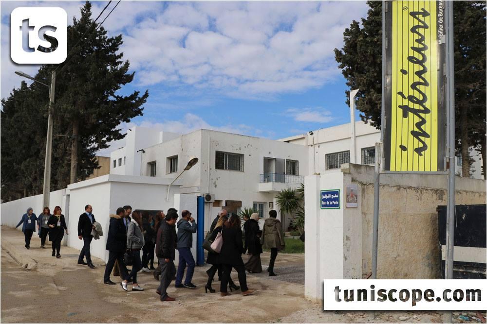 Sidi daoud visite à l usine de la société atelier du meuble